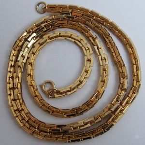 "30"" Chunky Thick Long Greek-Like Chain Necklace"